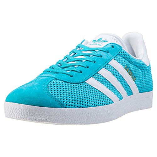 adidas Originals Unisex-Erwachsene Gazelle Schuhcreme & Pflegeprodukte, Mehrfarbig (Energy Blue/Footwear White), 37 EU