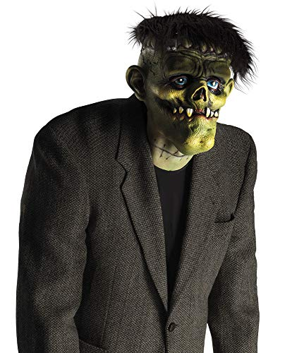 Boland 97573 - Maschera da Testa Creepy Monster con Capelli, Multicolore