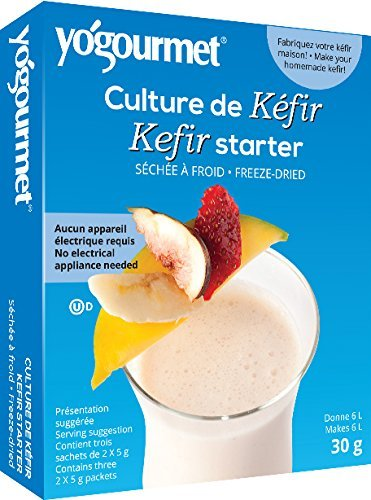 Yo Gourmet Freeze Dried Kefir Starter, 1 Ounce -- 6 per case.