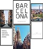 Papierschmiede® Mood-Poster Set Barcelona | 6 Bilder als