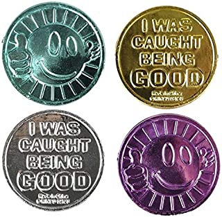 Rhode Island Novelty I was Caught Being Good Coins 144 Pieces