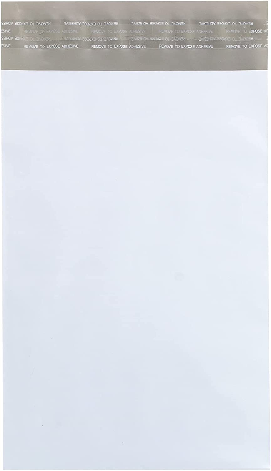 GPI - 6 x NEW 9 2.5 Mil Thick MAILER Bulk 70% OFF Outlet Pack 100 POLY WHITE Of