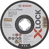 Bosch Professional 2608619267 Mola da Taglio Dritta Standard di, 10 Pezzi per Inox, X-Lock...