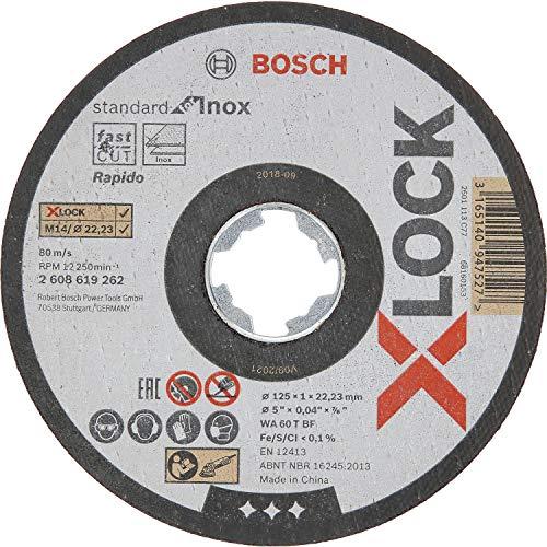 Bosch Professional Standard - 10 discos corte recto