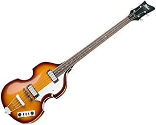 Hofner IGNITIONSB Electric Violin Bass Guitar - Rosewood Fingerboard, Sunburst Finish