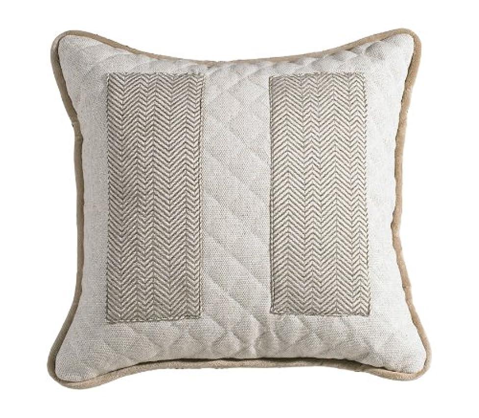 HiEnd Accents Fairfield Herringbone Pillow