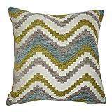 McAlister Textiles Navajo | Sofakissen mit Füllung in Blau