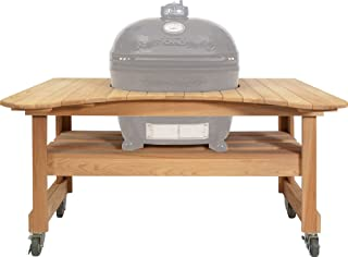 Primo Ceramic Grills Oval XL 400 Cypress Table