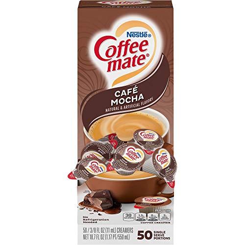 Nestlé Coffee-mate Coffee Creamer Café Mocha - liquid creamer singles