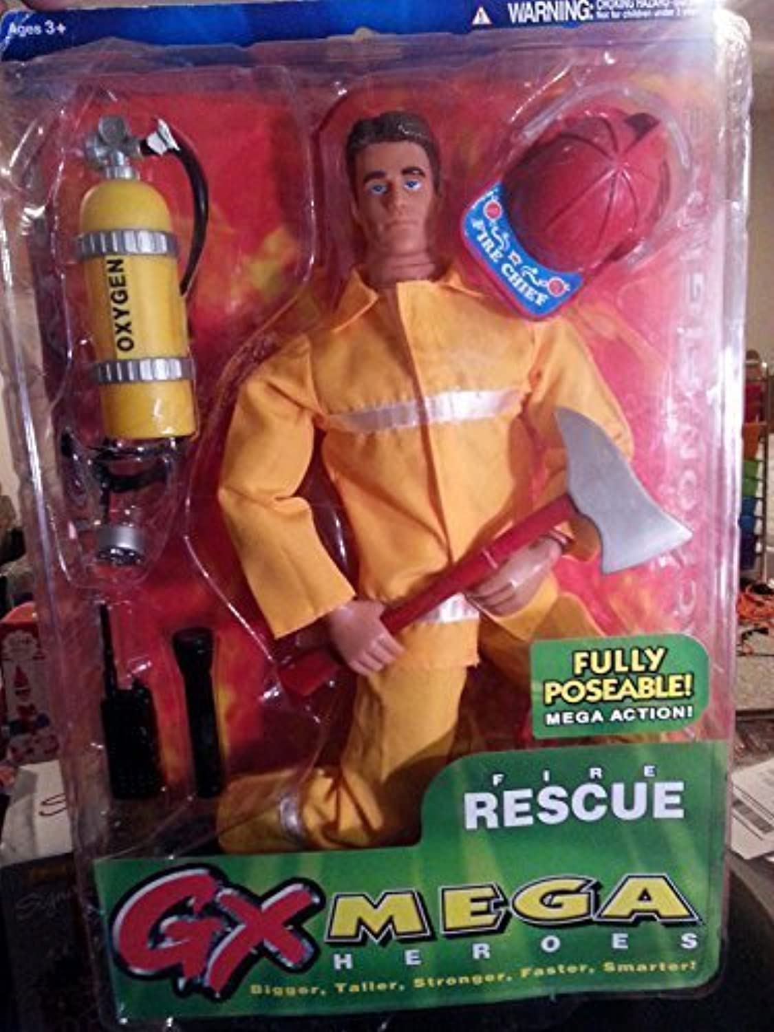 G X Mega Heroes Fire Rescue by Playco