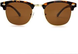 451d051fa5 Natwve & Co Clásico Gafas de sol con montura semi sin montura y medio marco  Mujer