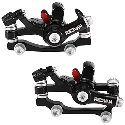 Lixada 160 mm Kit de Freno de Disco para Bicicleta Juego de Pinzas Delanteras Traseras Rotores de Disco Ciclismo MTB Bicicleta de Carretera Pinza de Freno Accesorio para Bicicleta