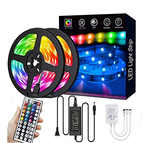 SXlofty 16-Color Home Decor LED Strip Lights
