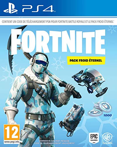 Fortnite : Pack froid éternel [Importación francesa]