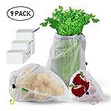 Wiederverwendbare Gemüsebeutel, STANBOW umweltfreundliche Einkaufstaschen waschbar Einkaufsbeutel...