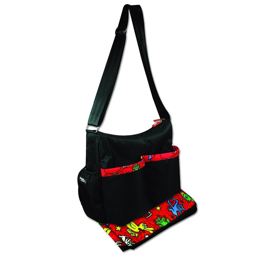 Bumkins Keith Haring Deluxe Diaper Bag, Animal