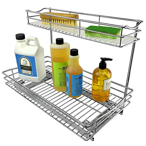Pull Out Sink Cabinet Organizer