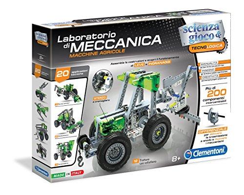 Clementoni 13954 - Laboratorio di Meccanica, Macchine Agricole