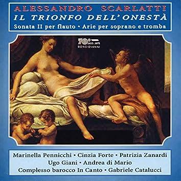 A. Scarlatti: Il trionfo dell'Onestà, Flute Concerto in A Minor & Arias (Live)