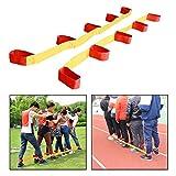 OFKPO 5-Cuerda Elastico, Legged Race Juego (2 PCS)