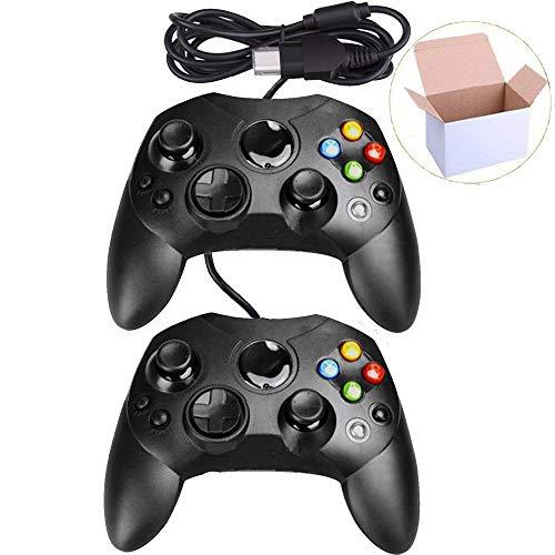 Mekela Classic - Palos de mando con cable para consola Xbox S (ClearRed) (renovado)