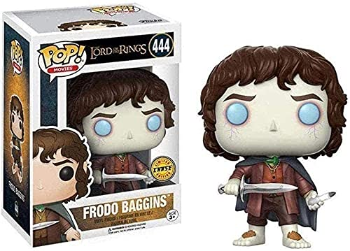 POP The Lord of The Rings Frodo Baggins Vinyl Collectible Toy Gift (3.9 inches)
