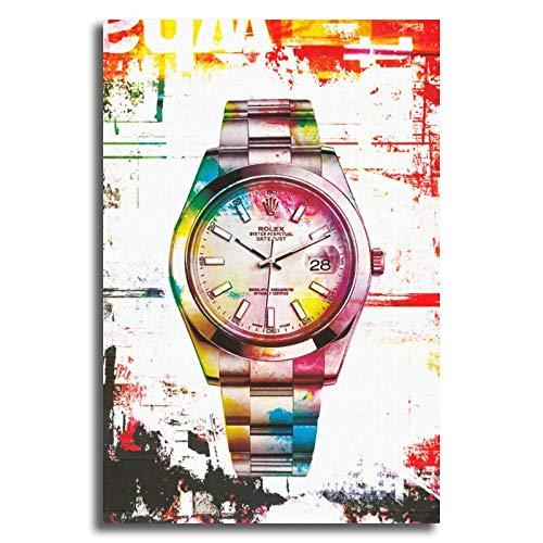 Puzzle 1000 Piezas Arte Colorido Reloj Estilo nórdico Puzzle 1000 Piezas clementoni Gran Ocio vacacional, Juegos interactivos familiares50x75cm(20x30inch)