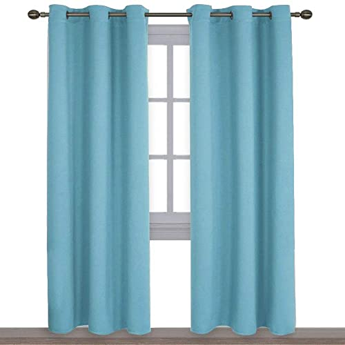 Turquoise Bedroom Curtains: Amazon.com