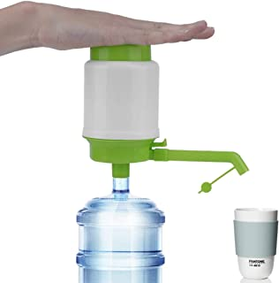 NEW For Gallon Bottled Drinking Water Pump Hand Press Manual Pump Dispenser Extensions Removable Tube Pump Faucet Tool