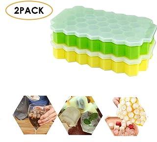 Bandejas para cubitos de hielo, paquete de 2 módulos de