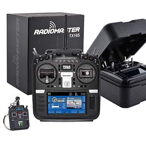 New RadioMaster TX16S Hall TBS Sensor Gimbals 2.4G 16CH Multi-Protocol RF System OpenTX Transmitter Remote Control for RC Drone (Hall Version Mode 2)