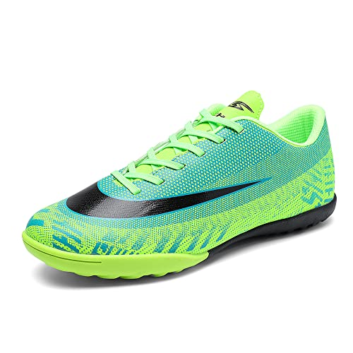 REBEST Botas de Fútbol para Hombre Profesionales Zapatillas de Fútbol Aire Libre Atletismo Zapatos de Entrenamiento Zapatos de fútbol para niños