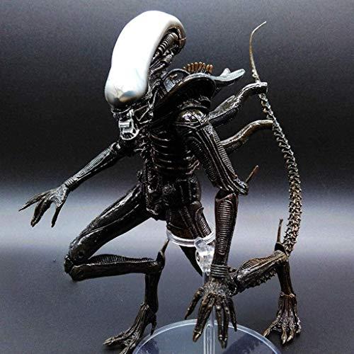 HOOPOO Películas - Aliens Vs Predator - 7' Escala Mixta Extranjero Sangre Figura de acción cobrable de la Serie  for Aficionados Extranjero 23cm