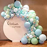 MMTX Kit Guirnalda Globos, 102 Piezas Guirnalda de Arco de Látex Globos, Globos de Fiesta cumpleaños en Colores Pastel para Decoración de Boda Cumpleaños Fiesta