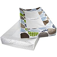Room 365 Dot Fun Baby Boy Changing Pad Cover Blue by Room101
