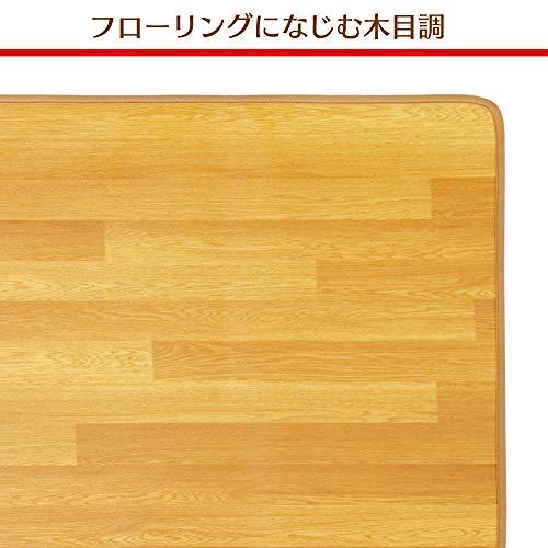 アイリスオーヤマホットカーペット木目調45×110cmHCM-1105FL-M
