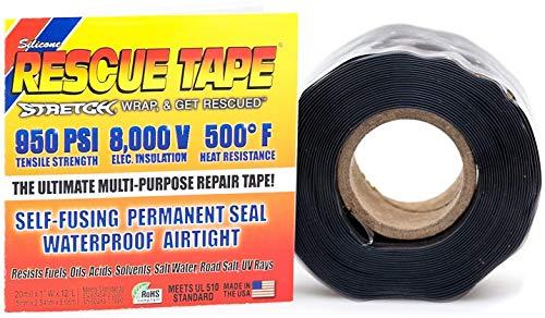 Rescue Tape RP2562 Schwarz 20 Mil 1x12ft Silikon Rescue Tape