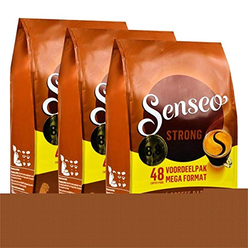 3x Senseo Dark Roast Coffee Pads (48 Pads) by Senseo