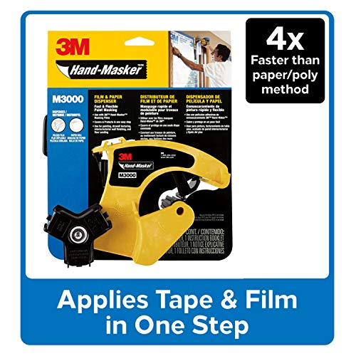 3M Hand-Masker Pre-Assembled Masking Film and Tape Kit