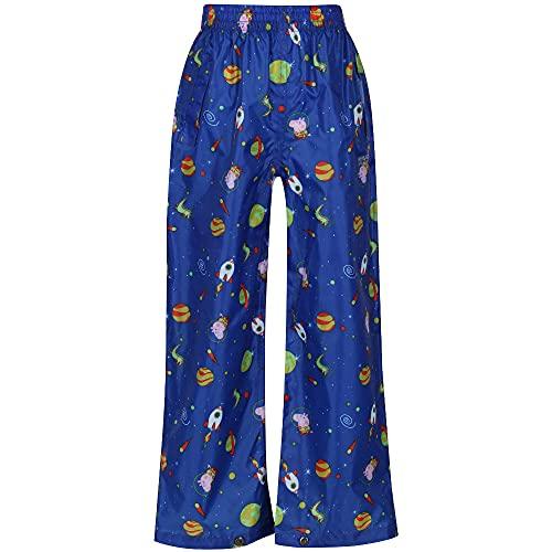Regatta Peppa Pack It Over Trousers Pantalones, Spray de Surf, 6 Meses Unisex niños