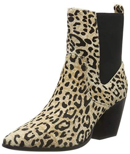 Buffalo Damen Ferry Stiefeletten, Mehrfarbig (Cheetah 001), 38 EU