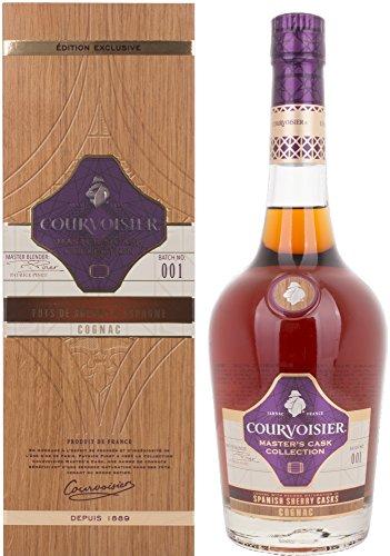 Courvoisier Masters Collection Spanisch Sherry Casks Cognac in Gift Box - 700 ml