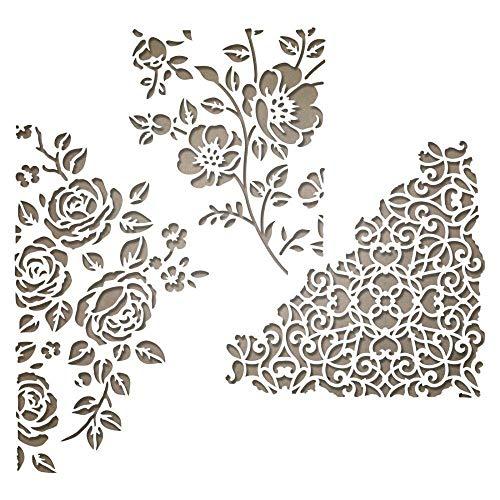 Sizzix Thinlits Fustella, Supporti Misti N. 5, Multicolore, 9,53cm x 9,53 cm - 7,3 cm x 8,89 cm