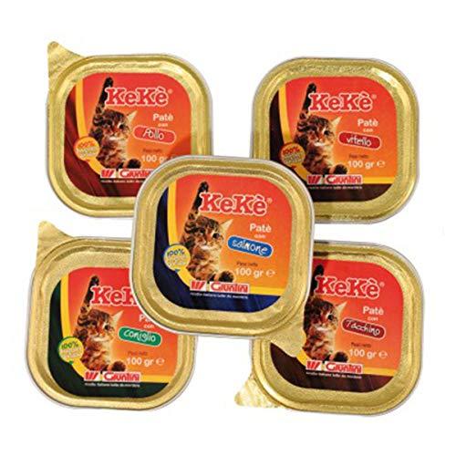 Giuntini–kekè–Gato–Paté Premium–Becerro 1bandeja 100,00Gr