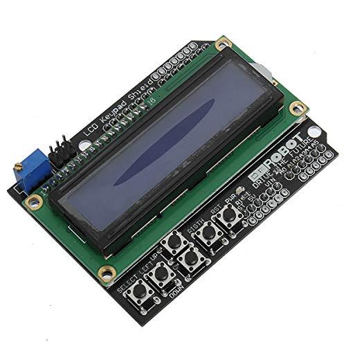 ILS - toetsenbord plaat blauwe achtergrondverlichting voor Arduino robot LCD 1602