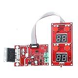 Módulo electrónico La placa de control del transformador de la máquina de soldadura por puntos neumáticos se puede conectar a la válvula solenoide con la soldadura de enlace 100A Equipo electrónico de