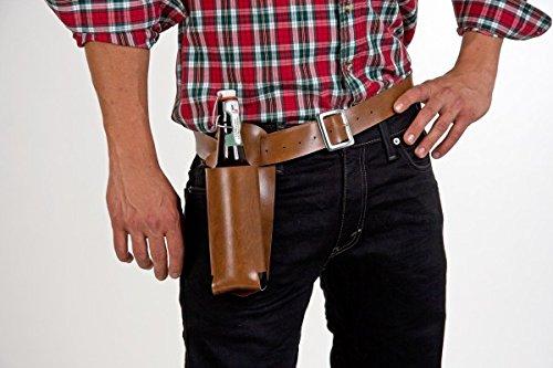Hüftgürtel mit Bierflaschenhalter, Gürtellänge 120 cm