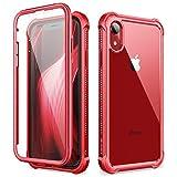 Dexnor Funda para iPhone XR (6.1''), Carcasa con Parachoques de Silicona de 360 Grados, [A...