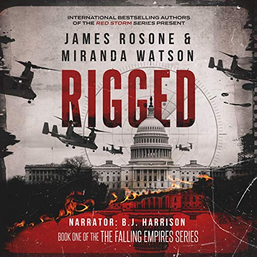 Rigged audiobook cover art