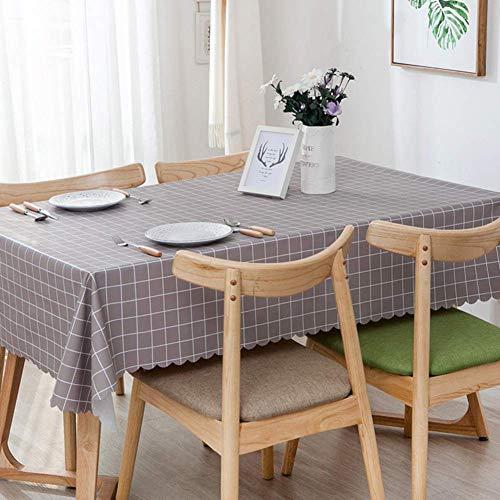 JLYZB 100% waterdicht Pvc tafelkleed, rechthoek Oblong Tafelkleed Olie-proof Keuken Eettafelblad Decoratie Beschermer Tafeldoek-c 120x180cm(47x71inch)